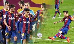 Barcelona derrotó 4-0 al Villarreal en su debut en LaLiga