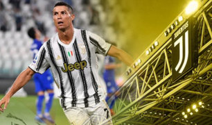 Cristiano Ronaldo anota doblete en empate de Juventus ante la Roma