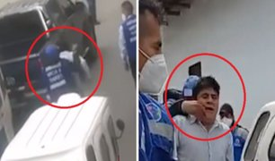 Cajamarca: fiscalizador municipal ataca por la espada a mototaxista intervenido