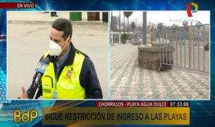 Chorrillos: playa Agua Dulce permanecerá enrejado para evitar aglomeraciones
