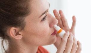 Covid-19: spray nasal para el resfriado frenaría avance en un 96%, según estudio