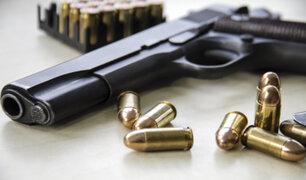 Hallan armas de fuego y 'pacos' de droga a extranjeros que robaban en Villa El Salvador