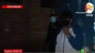 Policía interviene a Toño Centella en una fiesta clandestina
