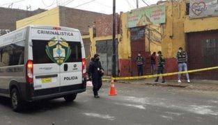 Crimen en el Rímac: sujeto es asesinado de dos balazos en el rostro