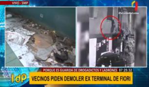 Insostenible: vecinos exigen acción a Municipalidad de SMP por exterminal de Fiori