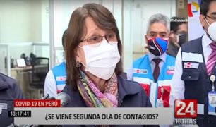 Pilar Mazzetti: segunda ola del coronavirus es inminente