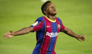 Ansu Fati: conoce al llamado 'sucesor de Lionel Messi'