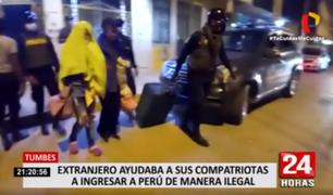 Tumbes: extranjero ayudaba a sus compatriotas a ingresar a Perú de manera irregular