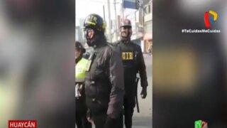 Huaycan: Intervienen a serenos por usar uniforme similar al de las águilas negras