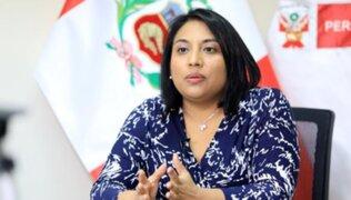 Ana Neyra sobre elección de magistrados del TC: Llega en un momento complicado