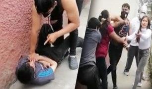 Ladrón roba celular y su madre lo ayuda a escapar
