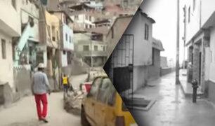 Así son las inseguras calles del cerro El Pino