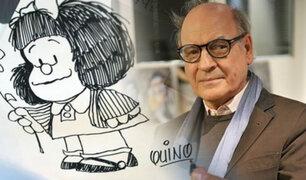 """Falleció """"Quino"""" el creador de Mafalda"""