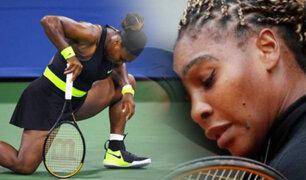 Serena Williams se despide del Roland Garros por lesión
