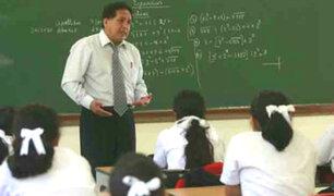 Minedu ofrece más de 57 mil plazas para reasignación de docentes