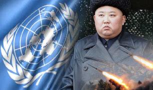 ONU denunció a Corea del Norte por continuar su programa nuclear