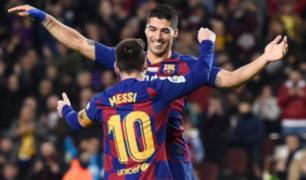 ¿Se volverán a juntar? Presidente del Atlético de Madrid no descarta reunir a Messi y Suárez