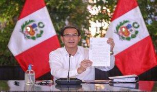 Presidente Martín Vizcarra promulgó ley de trabajadoras del hogar