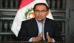 Martín Vizcarra negó ser esquivo con los medios de comunicación