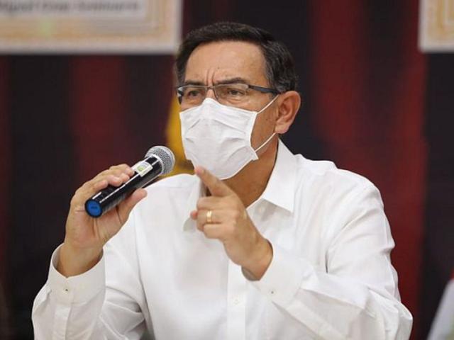 """Vizcarra sobre demanda tributaria en el TC: fallo desfavorable tendría """"impacto en la economía"""""""