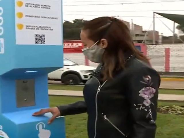 Chorrillos: instalan botón de pánico para que vecinos alerten sobre actos delictivos
