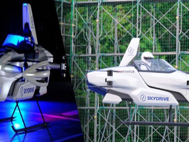 Japón prueba con éxito el primer auto volador