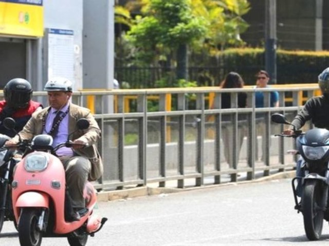 Tarapoto: dos motociclistas impactaron y quedan heridos