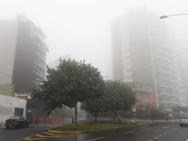 Lima seguirá registrando temperaturas mínimas en setiembre