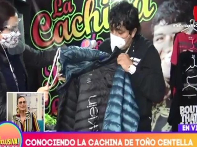 Toño Centella inauguró su 'cachina' en Independencia, pero sin ropa de su 'ex'
