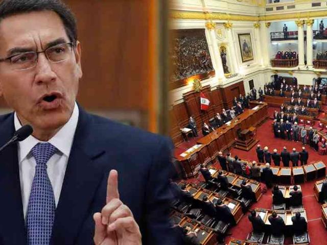 Congreso debate sobre admisión de moción de vacancia contra Vizcarra
