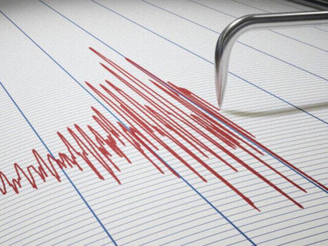 Sismo de 5.7 de magnitud se registró en Pasco