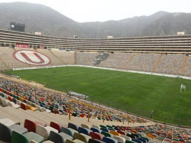 Liga 1: Monumental va quedando en óptimas condiciones para albergar partidos