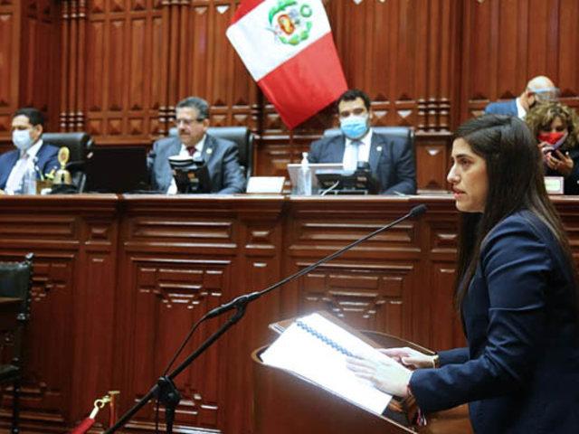 UPP, Podemos Perú, Frepap y Frente Amplio promueven censura a ministra Alva