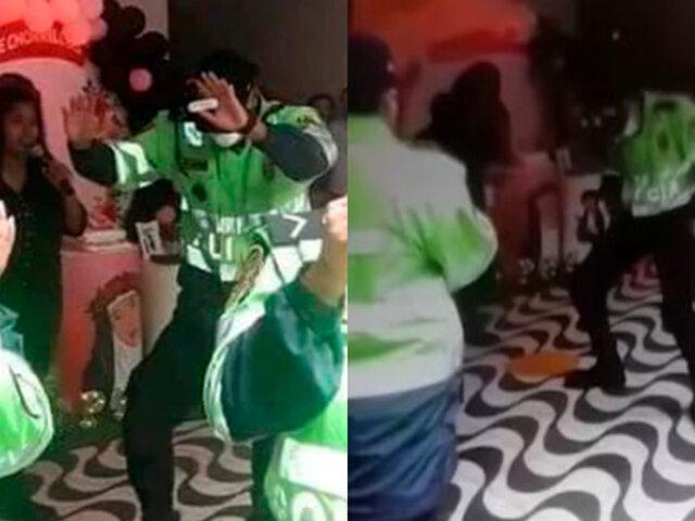Exdirector de la Policía pide investigación sumaria por fiesta en comisaría de Chorrillos