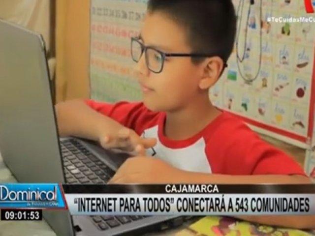 Cajamarca: más de 60 mil ciudadanos cuentan con internet móvil de alta velocidad