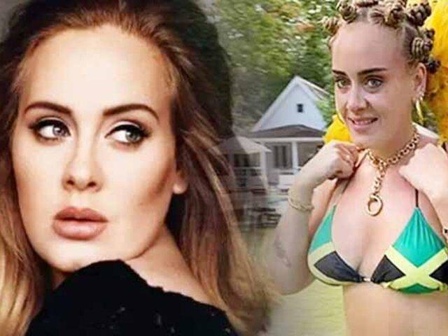"""Adele es acusada de """"apropiación cultural"""" por el diseño de su bikini"""