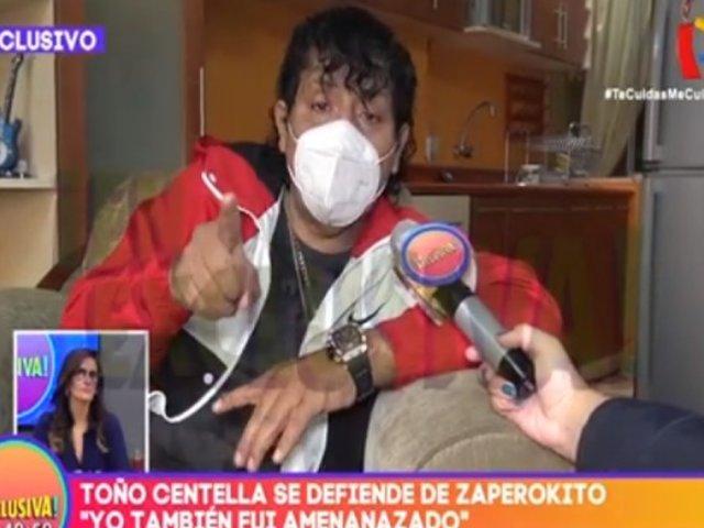 Toño Centella acusa de difamación a 'Zaperokito'