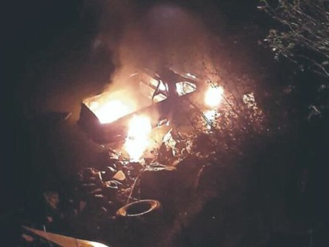 Junín: ocupantes de camioneta salvan de morir tras despiste a río Mantaro