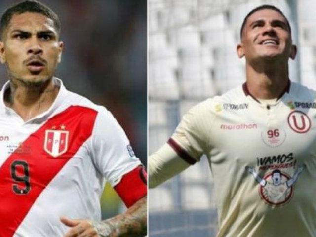 """Jonathan Dos Santos sobre Paolo Guerrero: """"Es lo más grande que hay en la Selección Peruana"""""""