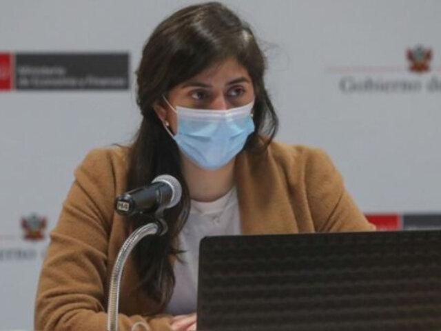 María Antonieta Alva: Pleno debate censura contra ministra de Economía