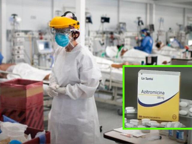 Brasil: La Azitromicina no sería eficaz en pacientes graves con Covid-19, según estudio