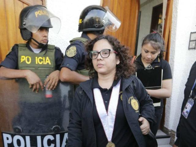 Fiscal Rocío Sánchez niega supuesto favorecimiento a investigación de Julio Guzmán