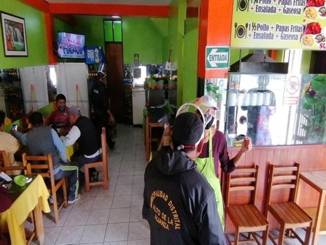 COVID-19 en Tacna: intervienen restaurantes que no cumplían con distanciamiento social