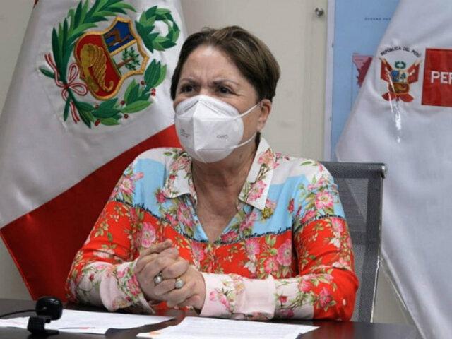"""Sasieta: """"Cada uno de los ministros respalda al presidente Vizcarra"""""""