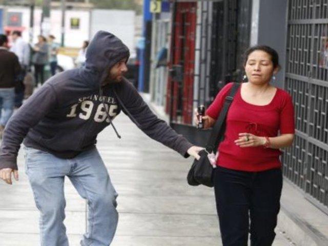 Chorrillos: cae delincuente armado que atemorizaba a vecinos de San Genaro