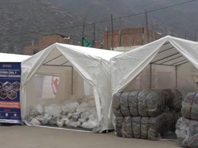 Huánuco: entregan ocho toneladas de ayuda Humanitaria a familias vulnerables por friaje