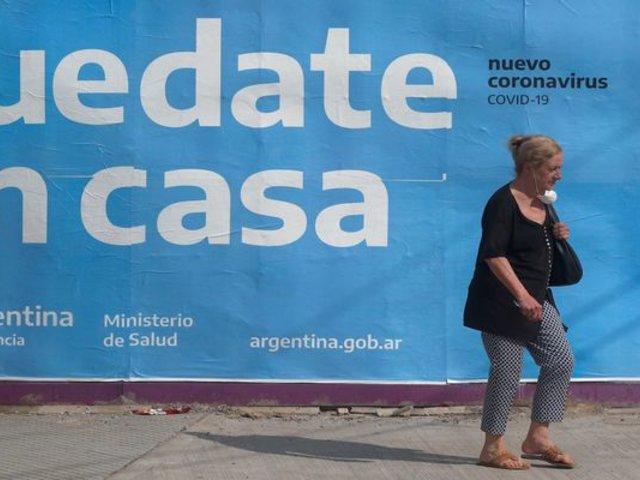 Argentina pasó la barrera de los 10 mil fallecidos por COVID-19
