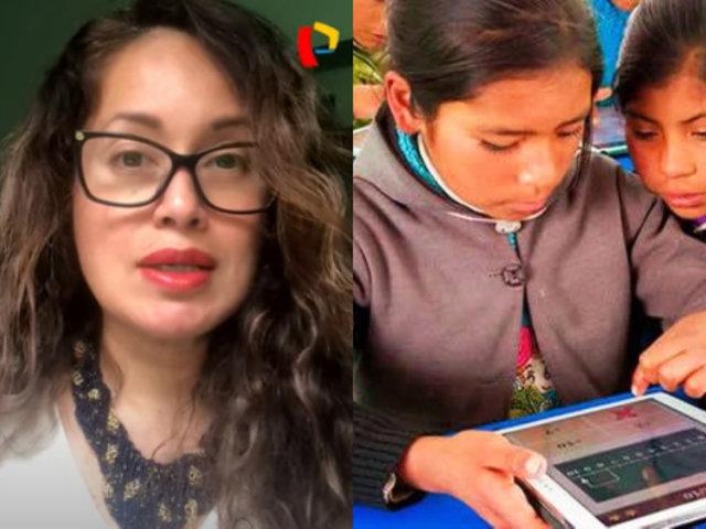 Elizabeth Zea: cierre de la brecha digital en el Perú implica tener conectividad