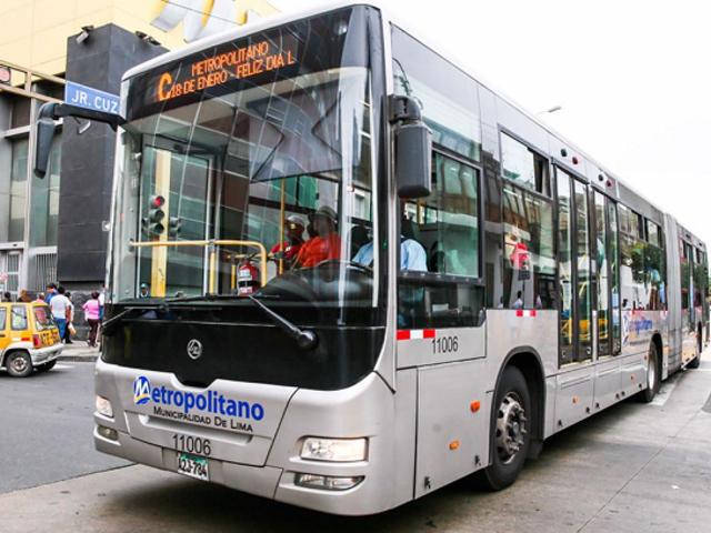 El Metropolitano suspenderá sus servicios a partir del 1 de diciembre