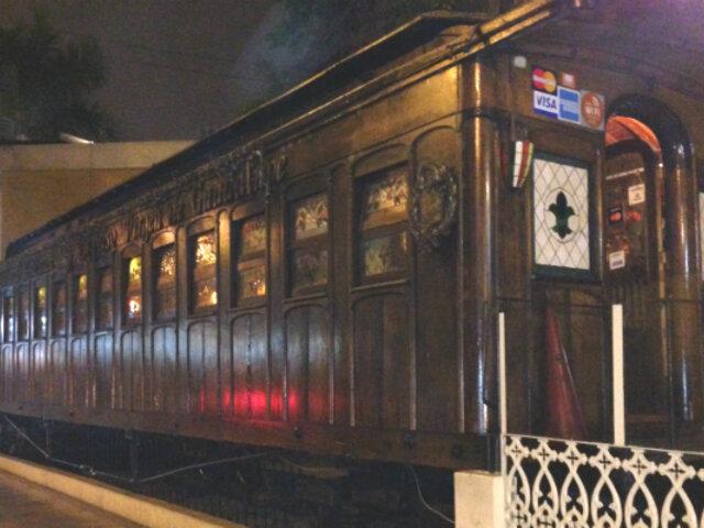 Barranco: propietario pone a la venta tradicional vagón traído desde Inglaterra